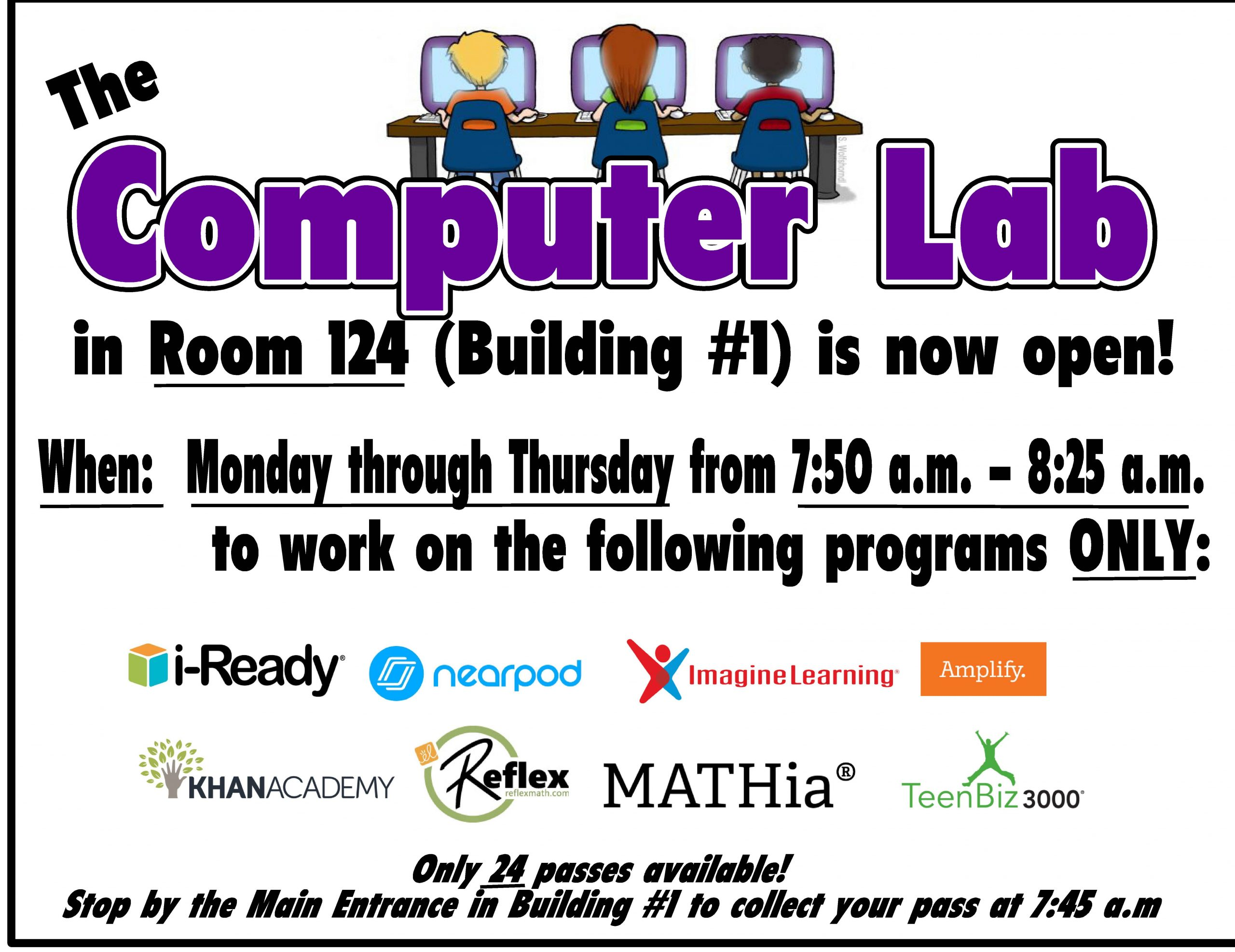 Computer Lab Flyer