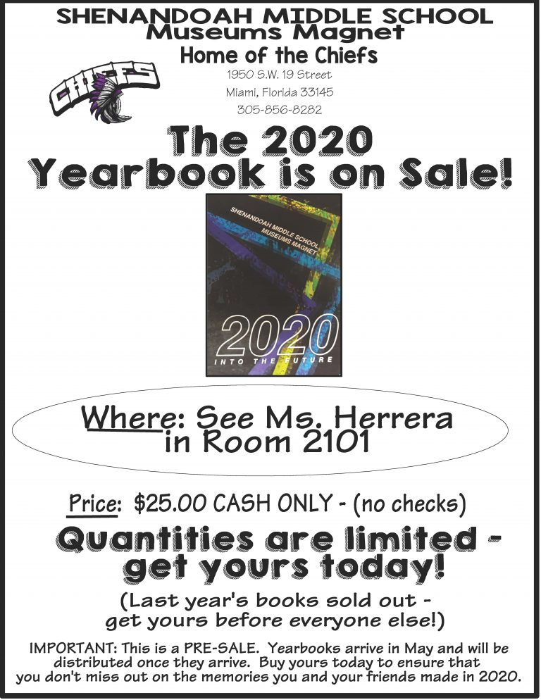 yearbook flyer
