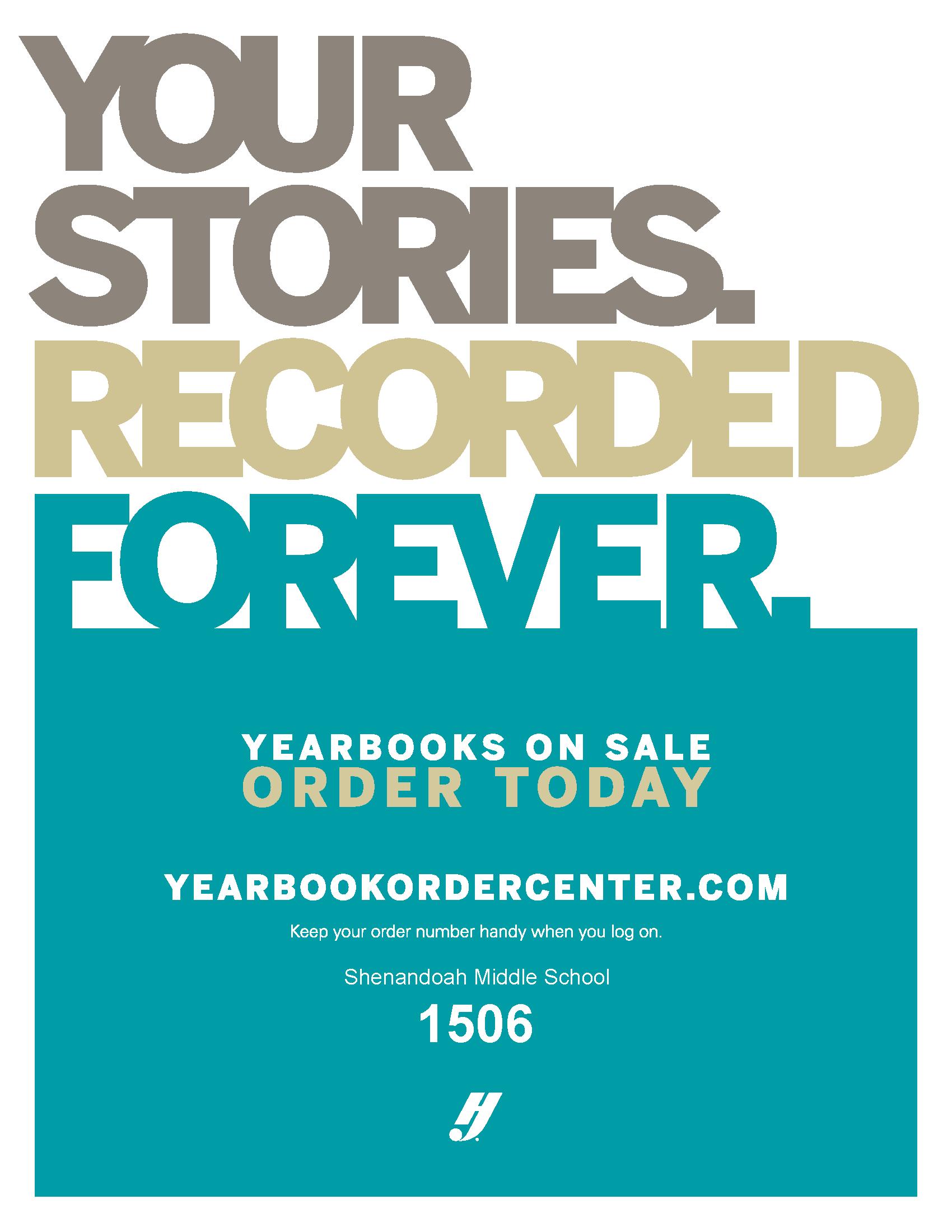 Yearbook Sales Flyer