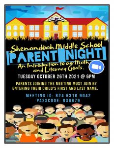 Literacy and Math Parent Night